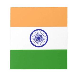 """Good color Indian flag """"Tiranga"""" Notepad"""