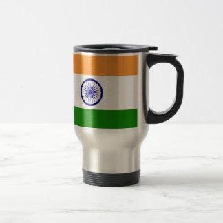 """Good color Indian flag """"Tiranga"""" Travel Mug"""