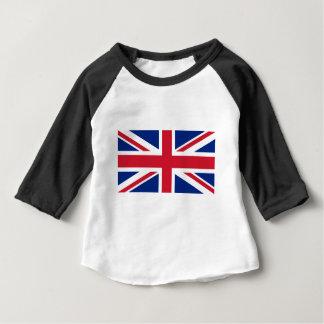 """Good color UK United Kingdom flag """"Union Jack"""" Baby T-Shirt"""