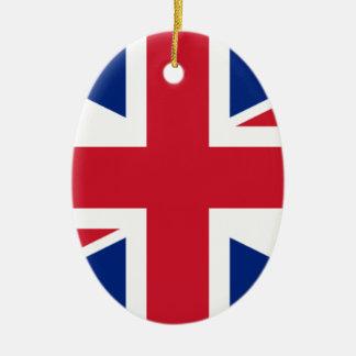 "Good color UK United Kingdom flag ""Union Jack"" Ceramic Ornament"