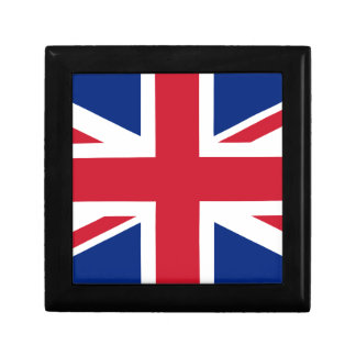 "Good color UK United Kingdom flag ""Union Jack"" Gift Box"