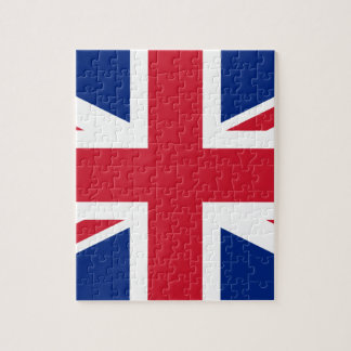 "Good color UK United Kingdom flag ""Union Jack"" Jigsaw Puzzle"