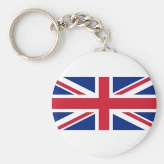 "Good color UK United Kingdom flag ""Union Jack"" Keychain"
