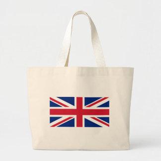 "Good color UK United Kingdom flag ""Union Jack"" Large Tote Bag"