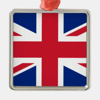 """Good color UK United Kingdom flag """"Union Jack"""" Metal Ornament"""