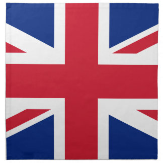 "Good color UK United Kingdom flag ""Union Jack"" Napkin"