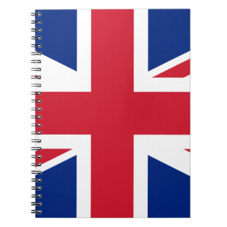 "Good color UK United Kingdom flag ""Union Jack"" Notebook"