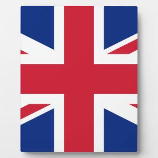 "Good color UK United Kingdom flag ""Union Jack"" Plaque"
