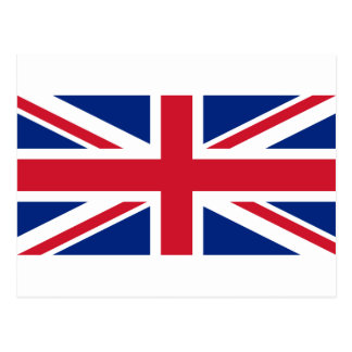 "Good color UK United Kingdom flag ""Union Jack"" Postcard"