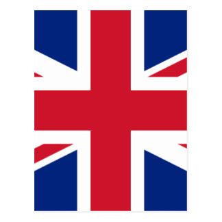 """Good color UK United Kingdom flag """"Union Jack"""" Postcard"""