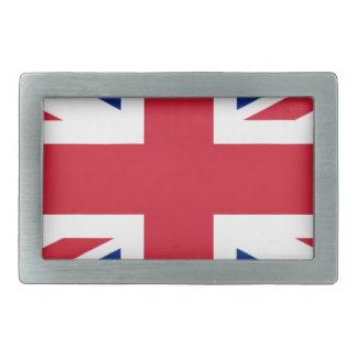 "Good color UK United Kingdom flag ""Union Jack"" Rectangular Belt Buckle"