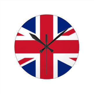 "Good color UK United Kingdom flag ""Union Jack"" Round Clock"