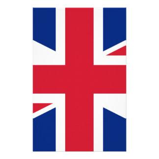 """Good color UK United Kingdom flag """"Union Jack"""" Stationery"""