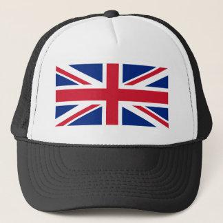 "Good color UK United Kingdom flag ""Union Jack"" Trucker Hat"
