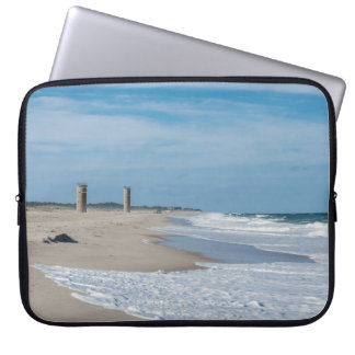 Good day at Rehoboth Beach Laptop Computer Sleeve