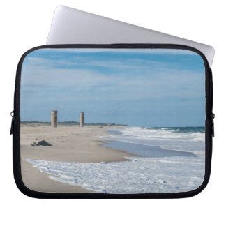 Good day at Rehoboth Beach Laptop Computer Sleeves