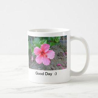 Good Day  :) Basic White Mug