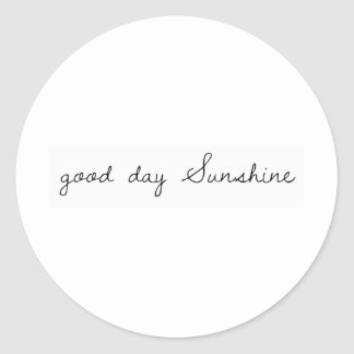 Good Day sunshine Stickers