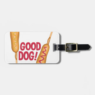 Good Dog Luggage Tag