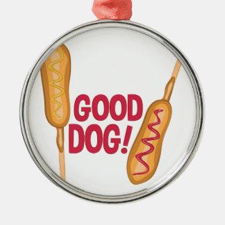 Good Dog Metal Ornament