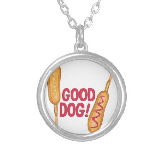 Good Dog Silver Plated Necklace