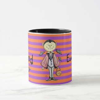 Good Evening Count Dracula Festive Mug