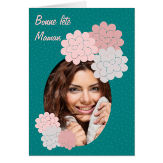 good festival mom flowers and photograph 01 green card