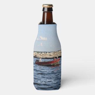Good Fishing On Lake Vermilion Bottle Cooler