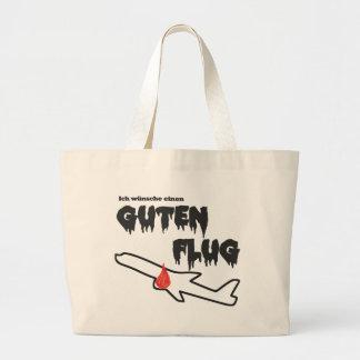 Good flight jumbo tote bag