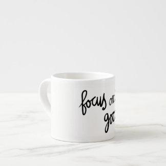 """""""Good focus"""" Espresso Mug"""
