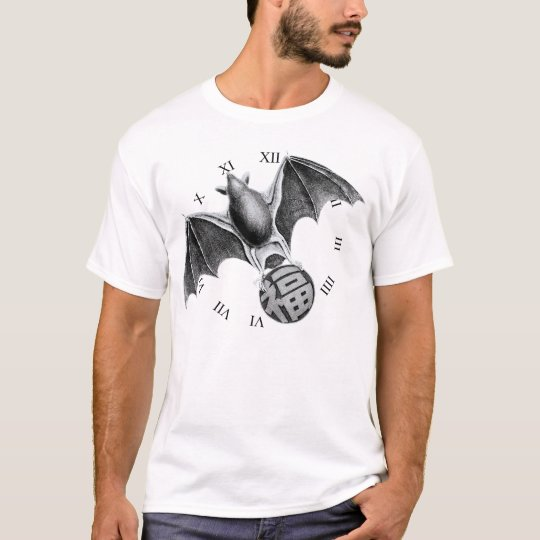Good fortune round the clock. Bat T-Shirt