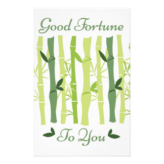 Good Fortune Stationery