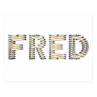 Good FRED Logo Postcard