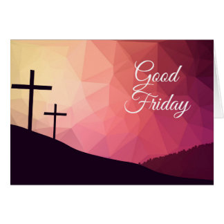 Good Friday Card