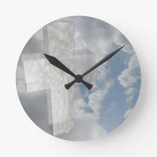 Good Friday Round Clock