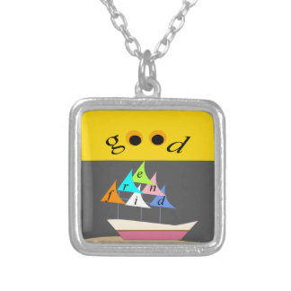 good friend ship1 silver plated necklace