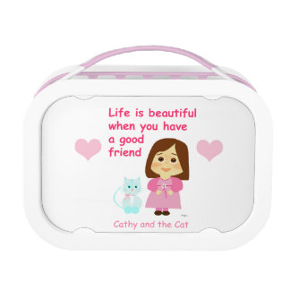 Good friendly 2 lunch box
