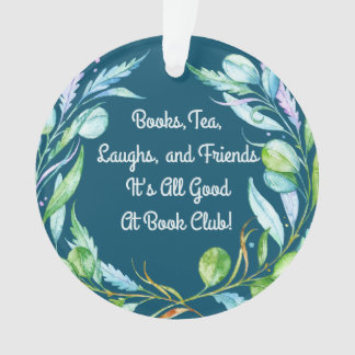 Good Friends At My Book Club Group Ornament