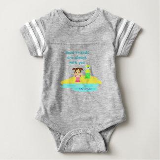 Good friends baby bodysuit