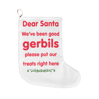 good gerbils large christmas stocking