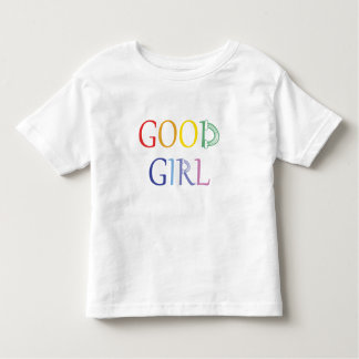 Good Girl rainbow t-shirt