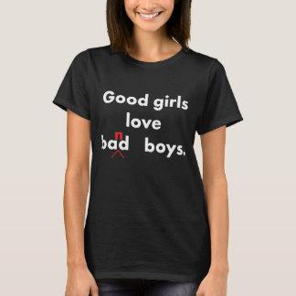 Good Girls Love Band Boys Music Geek Lover T-Shirt