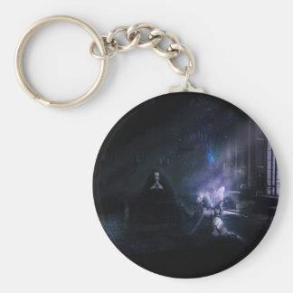 good gone bad v2 basic round button keychain