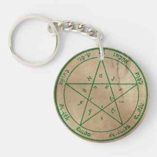 Good Graces Double-Sided Round Acrylic Keychain