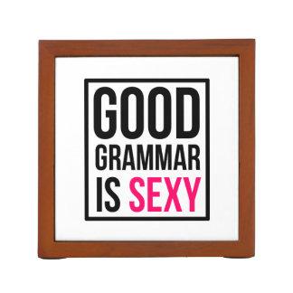 Good Grammar is Sexy Desk Organizer