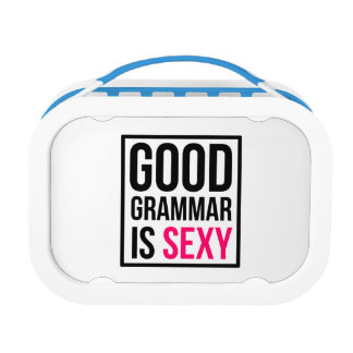 Good Grammar is Sexy Lunch Box