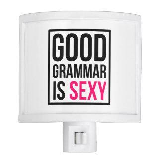 Good Grammar is Sexy Nite Lites