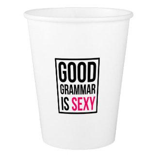 Good Grammar is Sexy Paper Cup