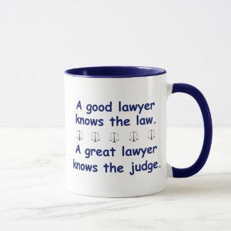 Good/Great Lawyer Mug