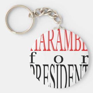 good harambe election president vote guardian gori basic round button keychain